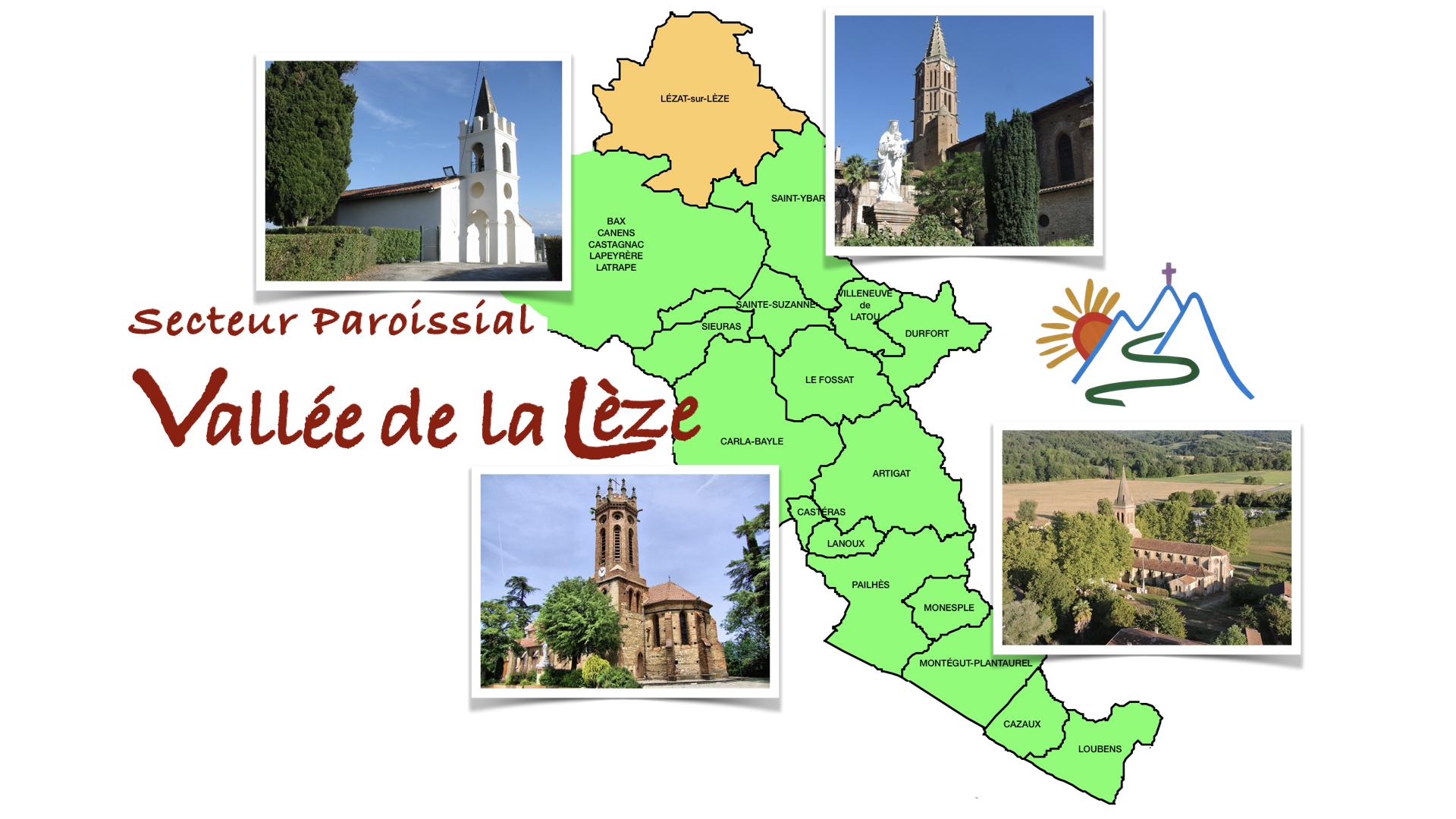 Agenda du Secteur Paroissial de la Vallée de la Lèze