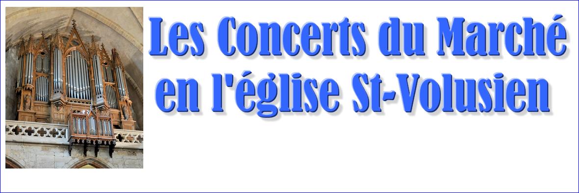 Les concerts du Marché en l'église Saint-Volusien