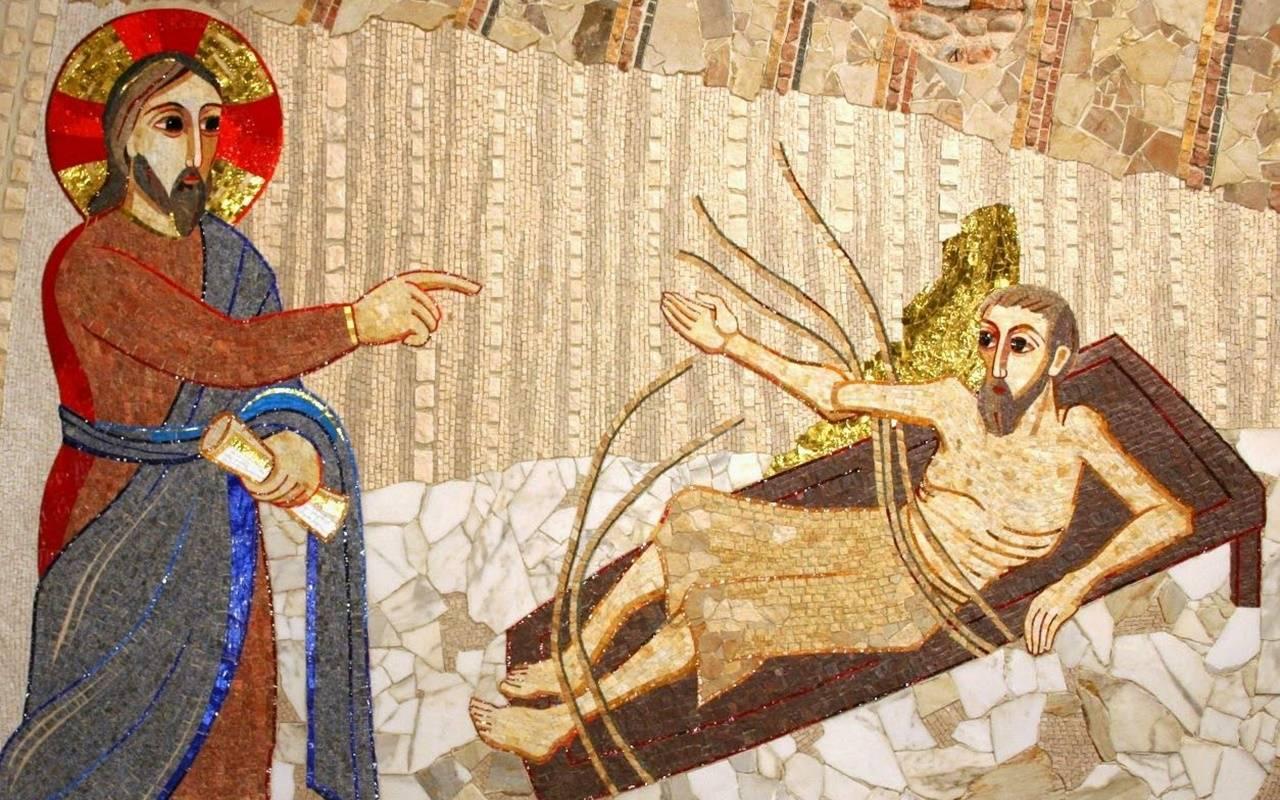 «Lève-toi, prends ton grabat, et marche», nous dit le Ressuscité!