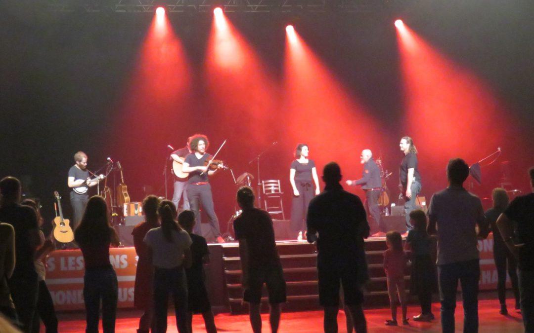 Concert des soixante ans du CCFD-Terre Solidaire