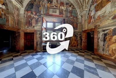 Visite virtuelle à Rome